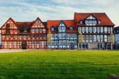 德国- Wolfenb ttel的迷人的镇 少许威尼斯 库存图片