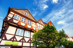 德国- Wolfenb ttel的迷人的镇 少许威尼斯 免版税库存照片