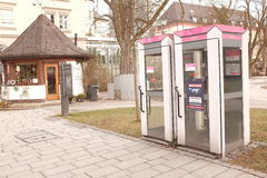 德国callboxes 免版税库存图片