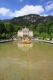 德国linderhof宫殿 库存照片