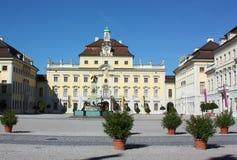 德国ludwigsburg宫殿 免版税库存图片