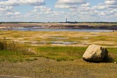 德国lusatian的湖水地区 免版税图库摄影