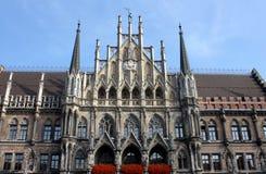 德国marienplatz慕尼黑 免版税图库摄影