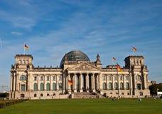 德国reichstag 免版税库存图片