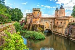 德国s门在梅茨,法国 免版税图库摄影