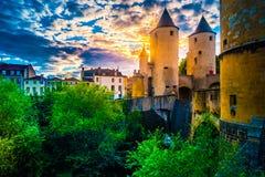 德国s门在梅茨,法国 免版税库存图片