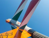 德国speyer 航空器和空间飞行陈列 库存照片