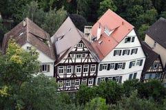 德国tipical房子 库存照片