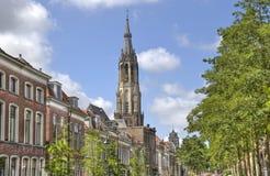 德尔福特,荷兰高耸  图库摄影