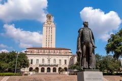 德州大学 免版税库存照片