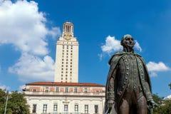 德州大学 免版税图库摄影