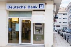 德意志银行分支 图库摄影