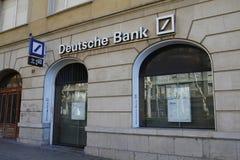 德意志银行分部 库存照片