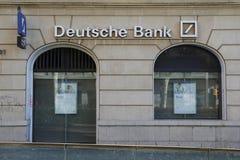 德意志银行分部 免版税图库摄影