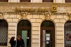 德意志银行 库存照片