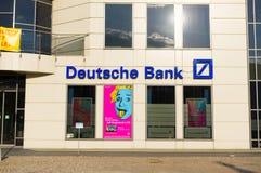 德意志银行 免版税库存照片