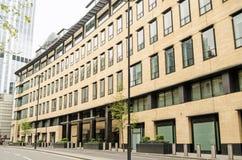 德意志银行HQ,伦敦市 免版税图库摄影