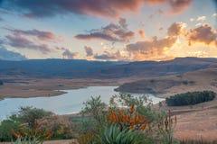 德拉肯斯山脉,夸祖鲁纳塔尔,南非 库存照片