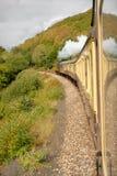 德文郡英国遗产蒸汽培训 免版税图库摄影