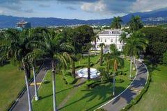 德文郡议院,金斯敦,牙买加 免版税库存照片