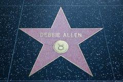 德比亚伦好莱坞明星 免版税图库摄影