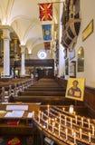 德比大教堂,德比市,英国 免版税库存图片