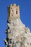 德温城堡少女塔  免版税库存照片