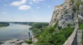 德温城堡 免版税库存照片