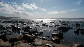 德班海滩 免版税库存图片