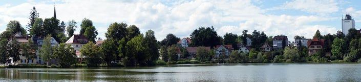 巴德瓦尔策和湖 库存照片