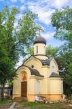 德米特里・顿斯科伊教堂在Andronikov修道院的东部墙壁外 莫斯科 免版税库存图片