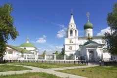 德米特里Solunsky教会在雅罗斯拉夫尔市,在17世纪建造 免版税库存图片