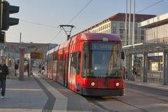 德累斯顿公共交通工具 图库摄影