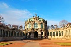 德累斯顿宫殿zwinger 库存图片