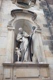 德累斯顿德国 雕象和纪念碑 免版税库存照片
