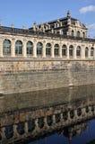 德累斯顿护城河zwinger 免版税库存照片