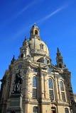 德累斯顿是一个城市在萨克森 库存图片