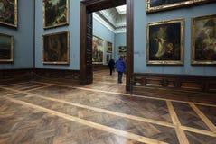 德累斯顿画廊掌握老照片 免版税库存图片