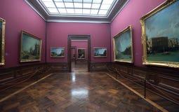 德累斯顿画廊掌握老照片 免版税库存照片
