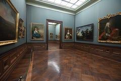 德累斯顿画廊掌握老照片 免版税图库摄影