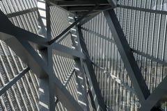德累斯顿,德国, 2012年8月:军史博物馆大厦细节在德累斯顿 图库摄影