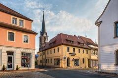 德累斯顿,维尔斯德鲁夫,德国的郊区的建筑学 库存照片