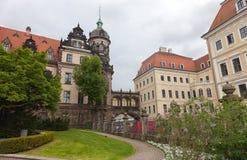 德累斯顿 德国 种类城市 中心历史 免版税库存照片
