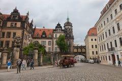 德累斯顿 德国 种类城市 中心历史 库存图片