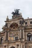 德累斯顿 德国 种类城市 中心历史 免版税库存图片