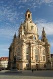 德累斯顿frauenkirche德国 库存图片