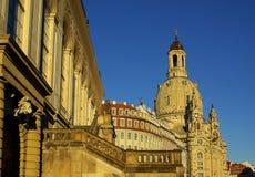 德累斯顿Frauenkirche 01 库存照片