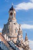 德累斯顿frauenkirche 免版税库存图片