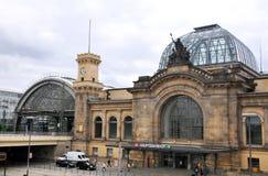 德累斯顿hauptbahnhof 免版税库存图片