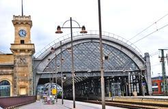 德累斯顿hauptbahnhof 库存图片